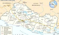 Mapa Oficial de la República de El Salvador