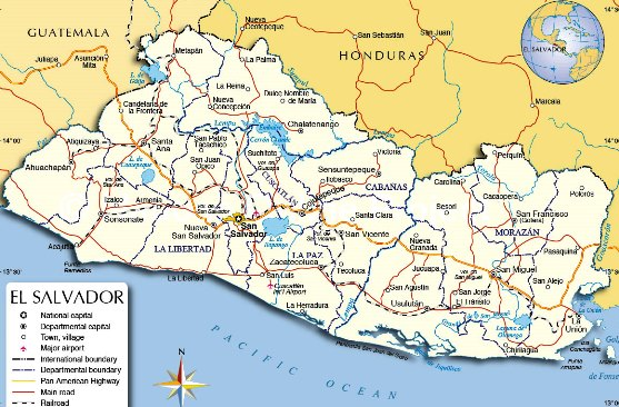 Información sobre El Salvador